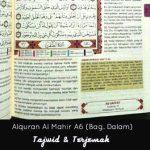 Al quran Tajwid Berwarna Al Mahir ukuran A6