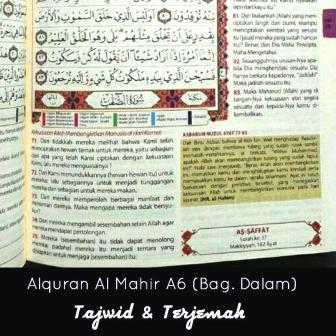 alquran al mahir a6 isi bagian dalam