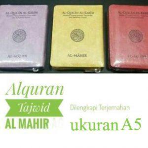 Quran Tajwid Warna – Al Mahir ukuran A5