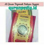 Harga Alquran Terjemah Inggris Al Jamil Ukuran Besar