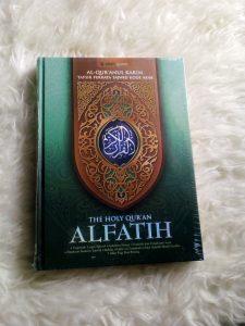 Al Quran Al Fatih The Holy Quran Ukuran Besar ( A4)