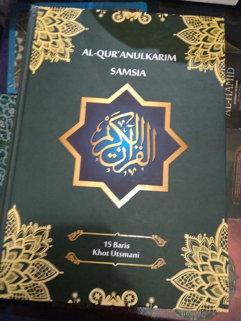Al quran biasa tanpa terjemah samsia